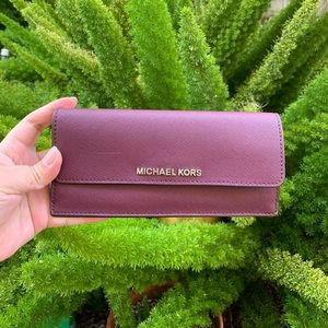 Michael Kors Jet Set Flat Wallet